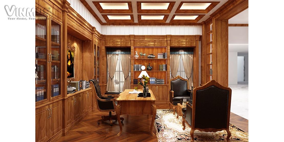 Phòng thư viện Maxine