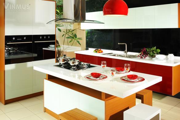 Tủ bếp Crystal