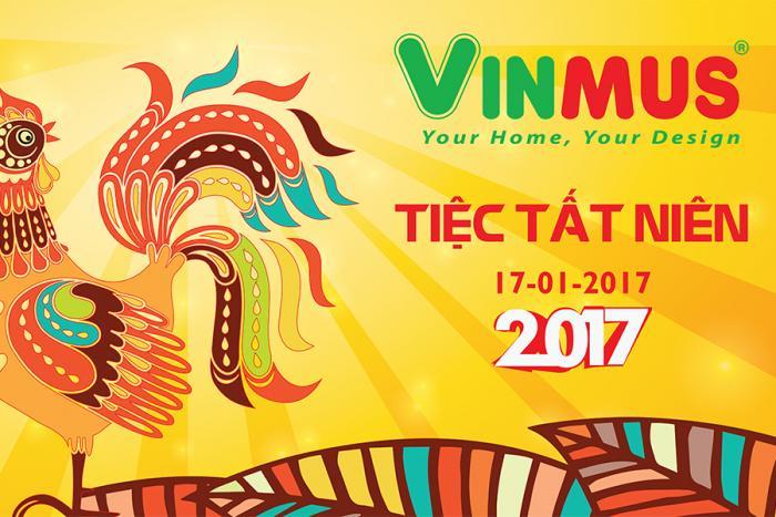 Tiệc Tất Niên Vinmus 2016 - Chào xuân Đinh Dậu 2017