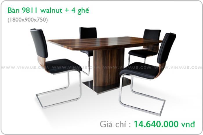 Vinmus ra mắt một số mẫu bàn ghế ăn hiện đại