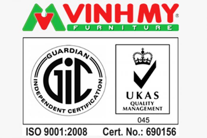 Vinh Mỹ đạt chứng nhận ISO 9001 của UKAS-Anh Quốc