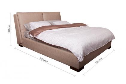 Giường bọc vải DB5139 1M6