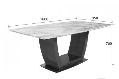 Bộ bàn ăn MABLE ION - VD6089