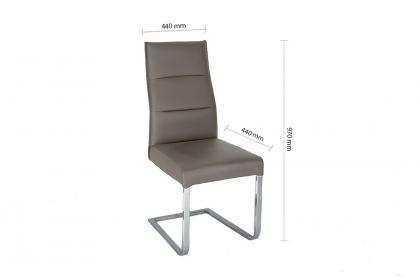 Ghế VD 1431 nệm màu nâu
