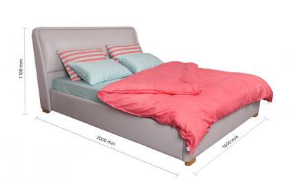 Giường bọc PVC KJ1605