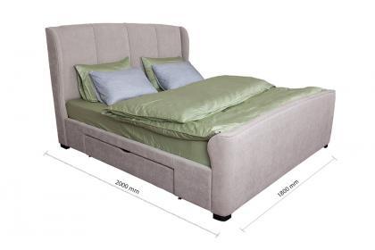 Giường ngủ bọc vải KJ1703