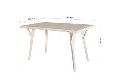 Bộ bàn KF 3007 DT -  6 ghế KF 4201 DC