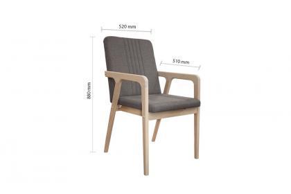 Bộ bàn ghế màu kem KF 3064 DT - KF 4190 DC