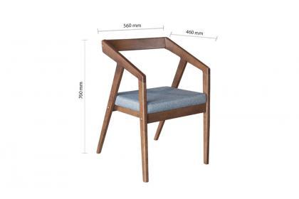 Bộ bàn ghế màu nâu KF 3071-1 DT - KF 4230 DC