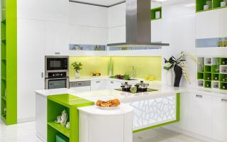 Tủ bếp Letti