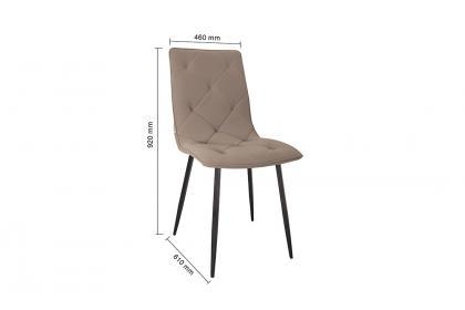 Ghế 18A08 (chân đen)