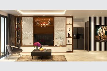 Thiết kế nội thất căn hộ thanh lịch
