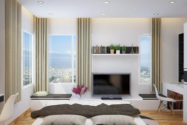 Nội thất căn hộ khang trang hiện đại