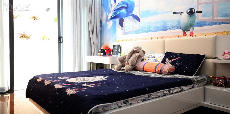 Phòng ngủ cho bé trai là không gian đầy thú vị cho bé với gam màu năng động trẻ trung và những món đồ trang trí đáng yêu